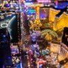 夜のラスベガスを上空から撮影した写真がすごい